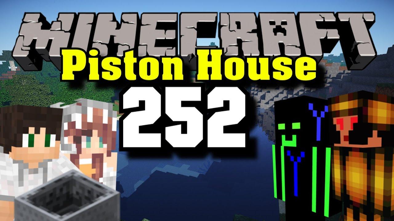 Lets Build Minecraft Piston House Minecart Teleportieren - Minecraft spieler zu mir teleportieren