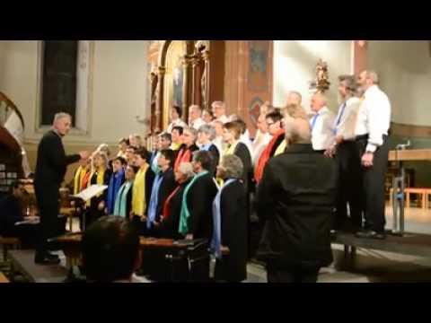 Desaku yang Kucinta dinyanyikan di Gereja Swiss