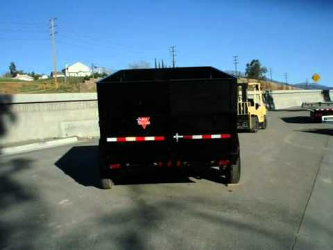 7x14 Heavy Duty Dump Trailer For Sale 877 292 4451 Youtube