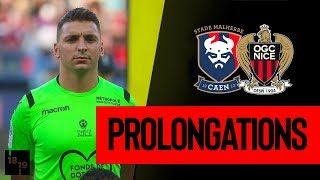 Caen 1-1 Nice : prolongations