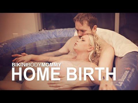 Bikini Body Mommy: Home Water Birth Story