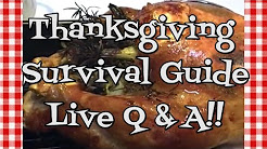 Thanksgiving Survival Guide ~ Live Q & A ~ Noreen's Kitchen
