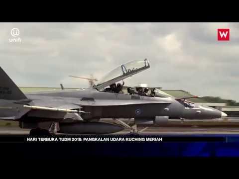 Hari Terbuka TUDM 2018: Pangkalan Udara Kuching Meriah