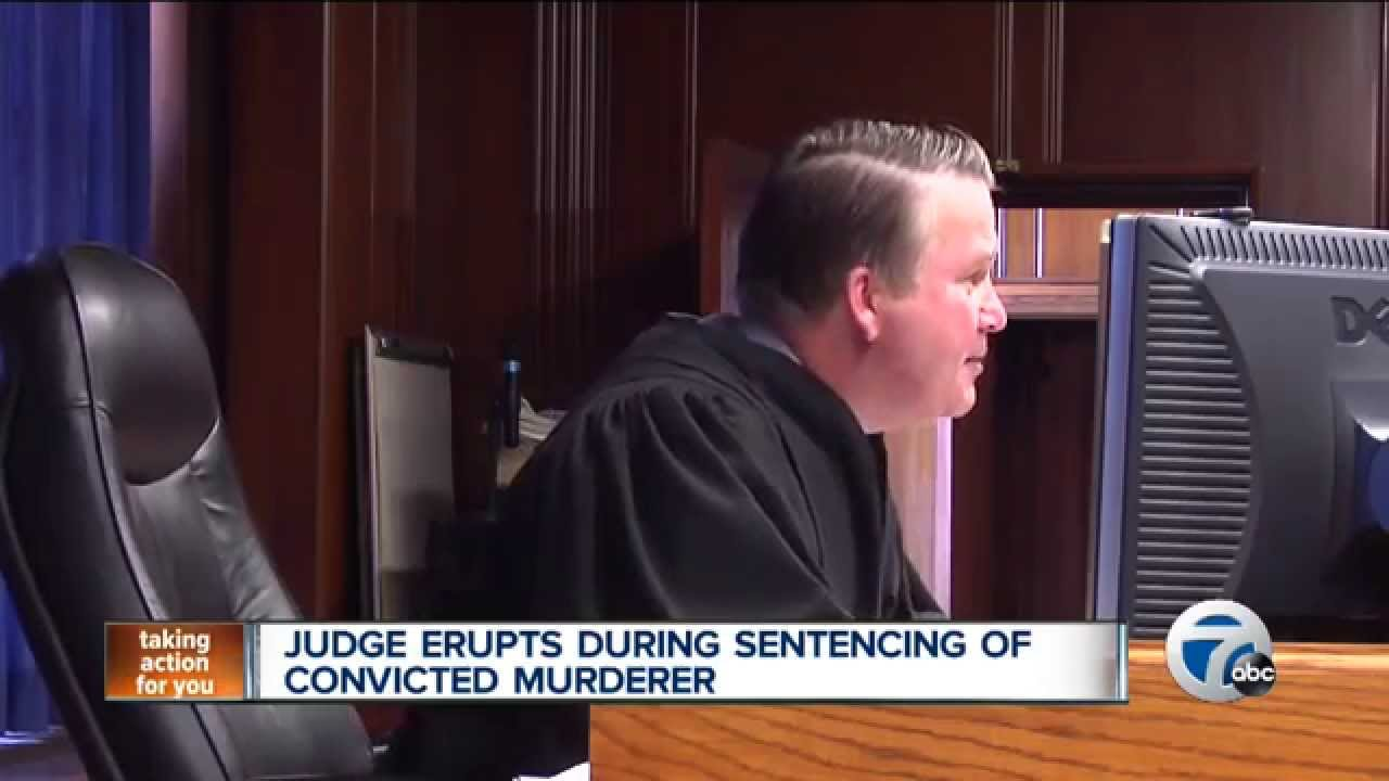 Angry Judge tells convicted murderer