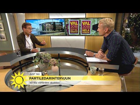 """Ulf Kristersson (M): """"Skärpta straff ger polisen fler verktyg"""" - Nyhetsmorgon (TV4)"""