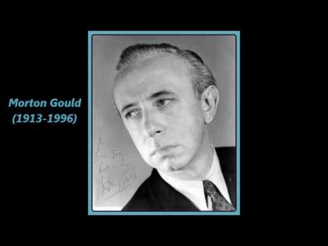 """Morton Gould's """"Pavanne"""" -- West Point Band, conducted by  Morton Gould  ('71)"""