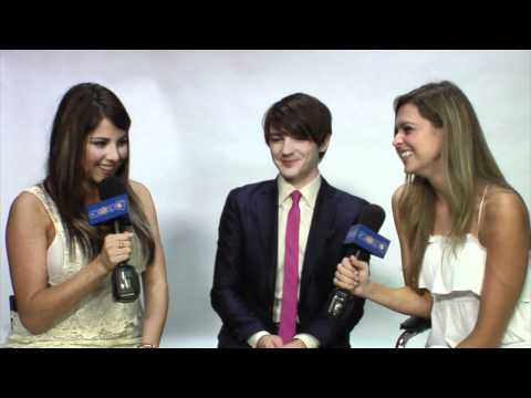 Drake Bell Chats Working With Keenan Cahill