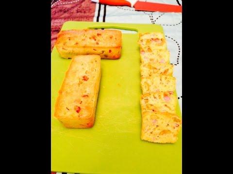 cakes-jambon,-emmental-et-olive.