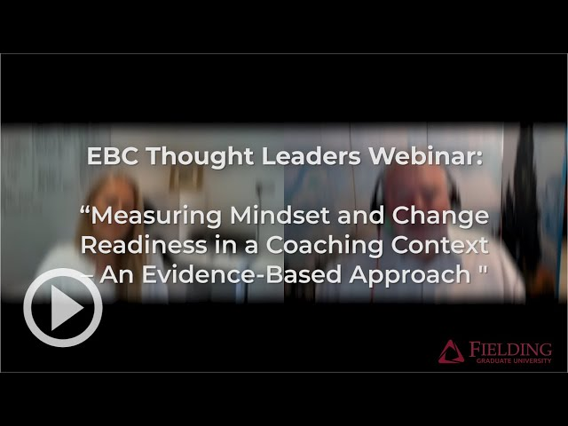 Measuring Mindset and Change Readiness in a #Coaching Context – An Evidence-Based Approach [Webinar]