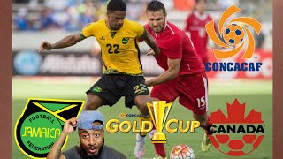 🇯🇲 Jamaica Vs Canada 🇨🇦 2-1 REACTION | 2017 CONCACAF GOLD CUP/COPA ORO QUARTER FINALS