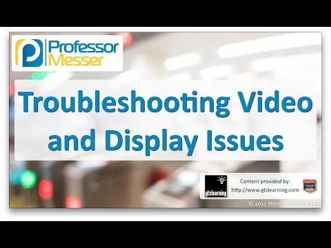 Descargar Video Troubleshooting Video and Display Issues - CompTIA A+ 220-901 - 4.3