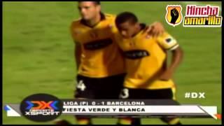 ¡Amistoso vs Liga de Portoviejo acabó en puñetiza!