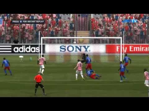 USA vs. Haiti | Road To World Cup Japan 2012 | FIFA 12