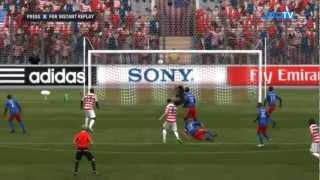 USA vs. Haiti   Road To World Cup Japan 2012   FIFA 12
