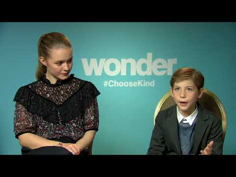 Jacob Tremblay Izabela Vidovic Wonder