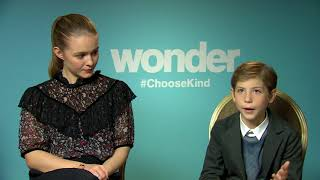 Jacob Tremblay Izabela Vidovic Wonder Interview