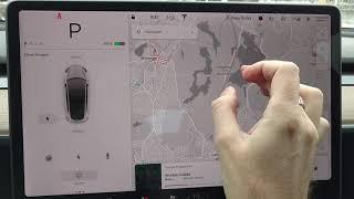 Tesla Model 3 Navigation Issues