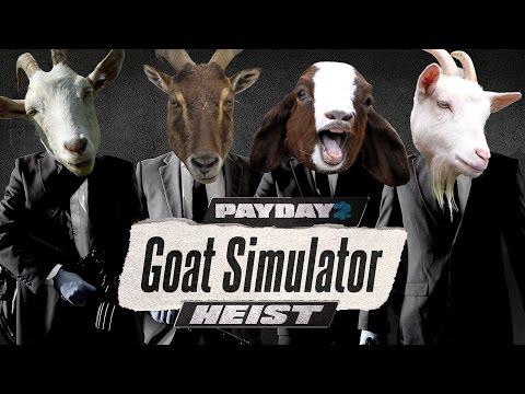 [Payday 2] Death Wish - Goat Simulator Heist