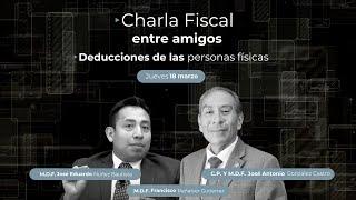 Cadefi - Charlas Fiscales - Deducciones De Las Personas Físicas  - 18 Marzo
