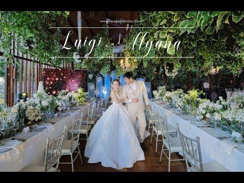Luigi and Alyana On Site Wedding Film  Nice Print Photography