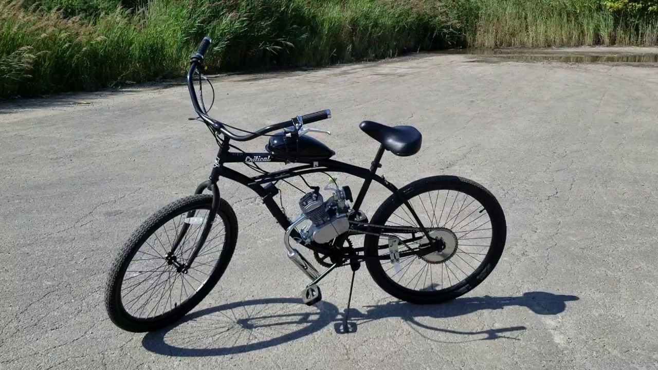 Gas Powered Bike Motorized Bicycle Dewey Lose Your License? GOT A DUI? Get This!