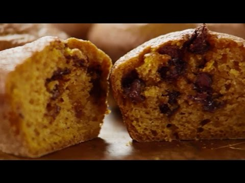 How To Make Pumpkin Chocolate Chip Muffins | Muffin Recipes | Allrecipes.com