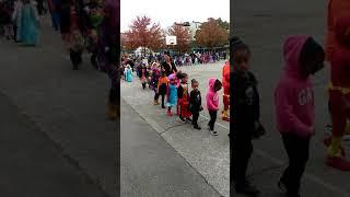 kids costume runway show