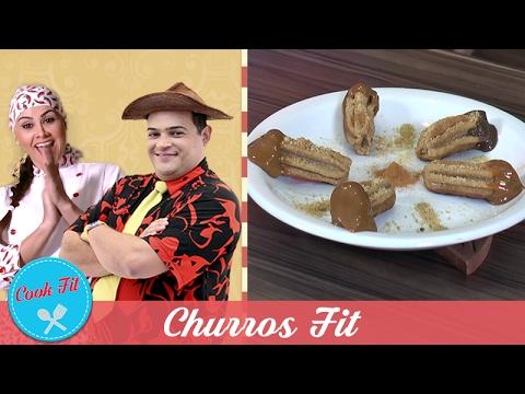 CHURROS FIT | Cook Fit | Matheus Ceará E Dani Iafelix