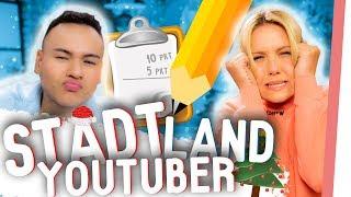 TOTALE ESKALATION! Stadt Land YouTuber CHRISTMAS Edition