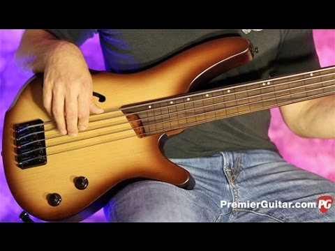 Review Demo - Ibanez SRH505F 5-String Fretless Bass
