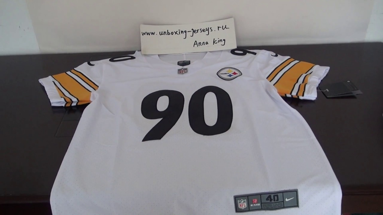 new styles b5216 61693 T. J. Watt Pittsburgh Steelers Vapor Untouchable Elite Jersey  unboxing-jerseys.ru review