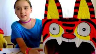 🌺🌺🌺Видео для детей домик для кота(кошки) своими руками Игры для детей