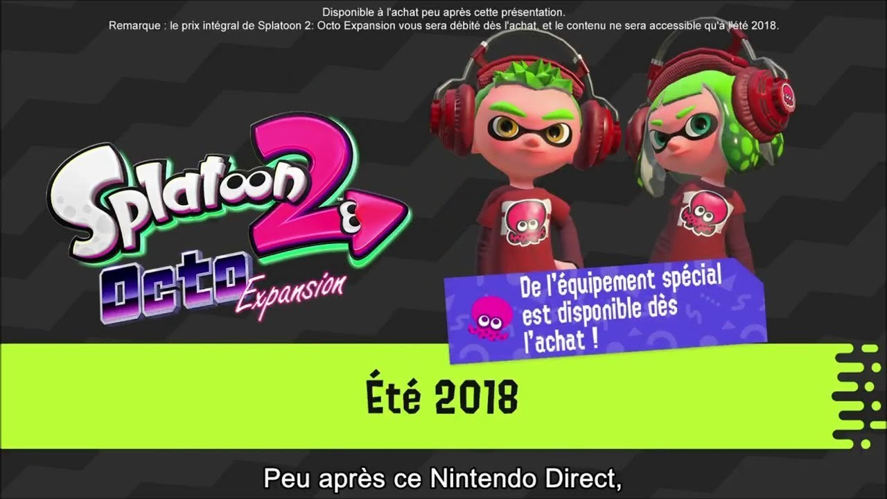 Splatoon 2 Octo Expansion Nintendo Master