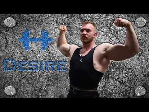 "Bodybuilding Training: ""Desire"" (Arm and Back Workout) (2017)"