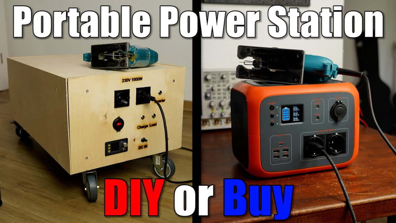 Portable Power Station || DIY or Buy