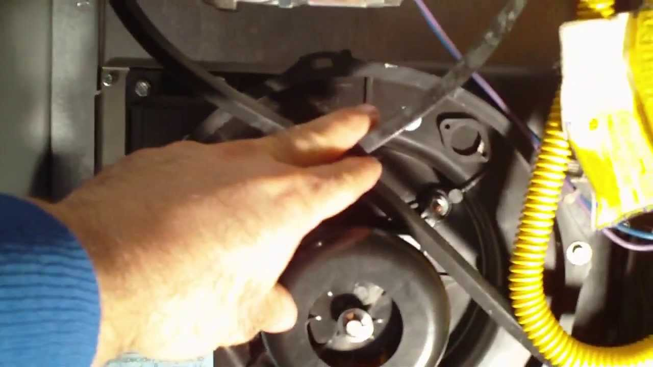 Changing A Draft Induction Blower Goodman Amana Youtube Furnace Wiring Diagram