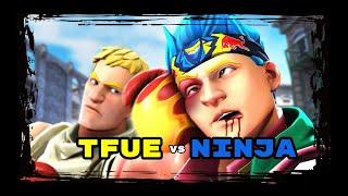 Batallas Increibles Entre YouTubers En Fortnite ( Tfue, Ninja, Mongral, Nitro)