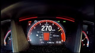 New 2017 Honda Civic Type R 0-270 kph