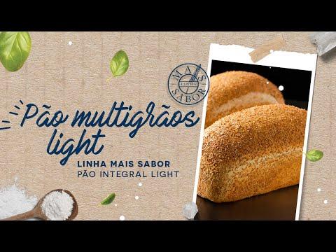 Pão Multigrãos Light — Linha Mais Sabor Pão Integral Light