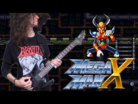 Mega Man X BOOMER KUWANGER - Metal Cover    ToxicxEternity