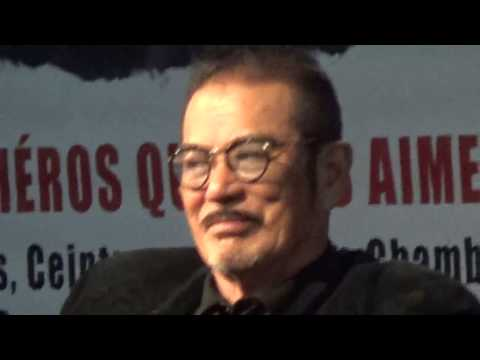Sonny CHIBA 千葉 真一 actor Kill Bill @ Paris Manga 6 february 2016