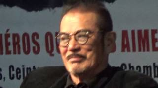 Sonny Shin'ichi CHIBA 千葉 真一 actor Kill Bill @ Paris Manga 6 feb...