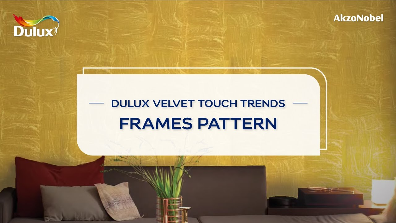 Frames Pattern - Dulux Velvet Touch Trends - YouTube