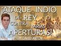 Juega el ATAQUE INDIO de Rey contra varias APERTURAS - GM David Antón CHESS24