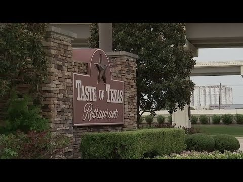 The Taste of Texas restaurant, great food with a slice of history!