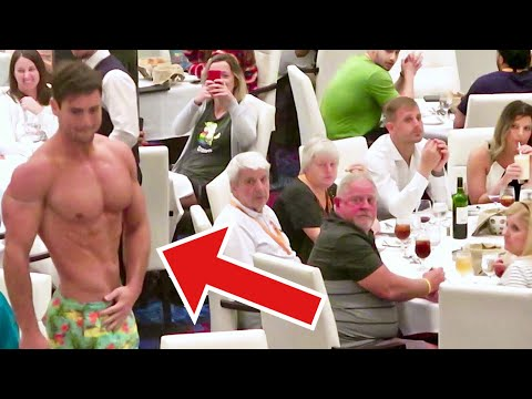 Connor Murphy Goes Shirtless To A 5 Star Restaurant | Connor Murphy Vlogs