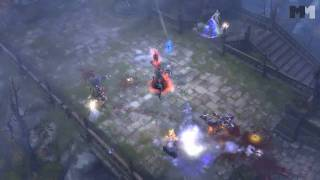 Diablo III | gameplay clip part 2 Blizzcon 2010