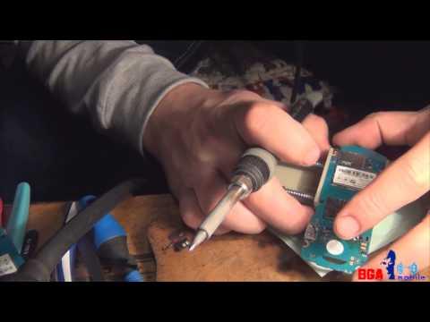 Последствия неквалифицированного ремонта. Как поменять коннектор батареи в телефоне Samsung E1080