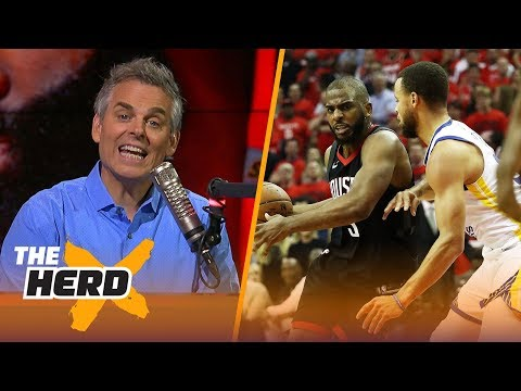 Colin Cowherd reacts to Houston's Game 5 win over Golden State | NBA | THE HERD