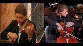 András Ágoston & László Fenyö - Miklós Rózsa : Sinfonia Concertante II. part 1